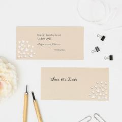 Lovely | Save the Date - Postkarte DinLang (quer)