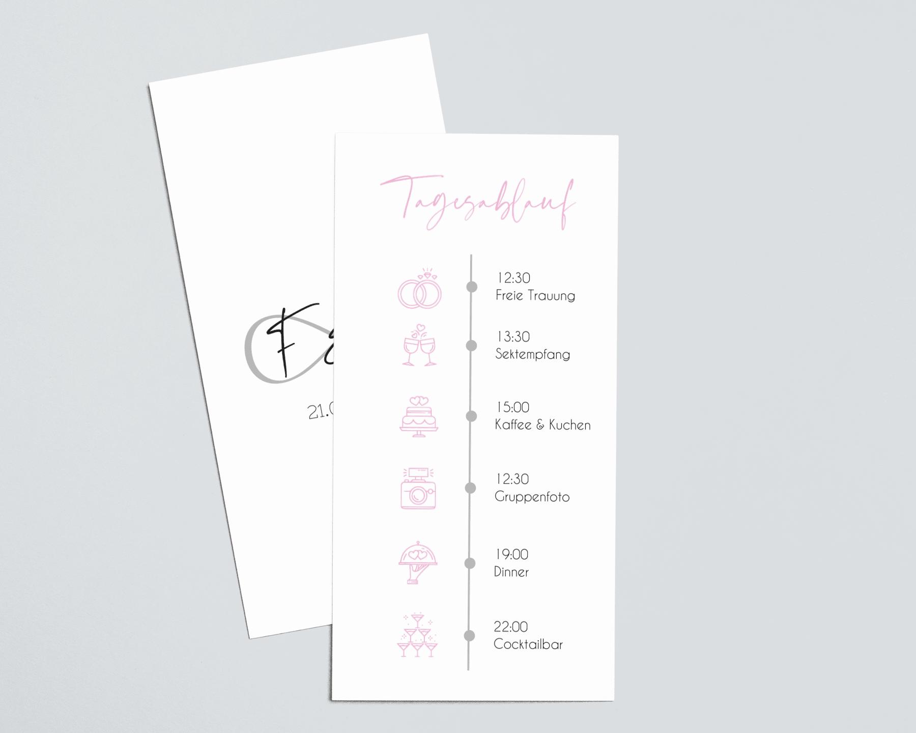 Timeline Hochzeit Icons Symbole Vorlage Zum Download 11