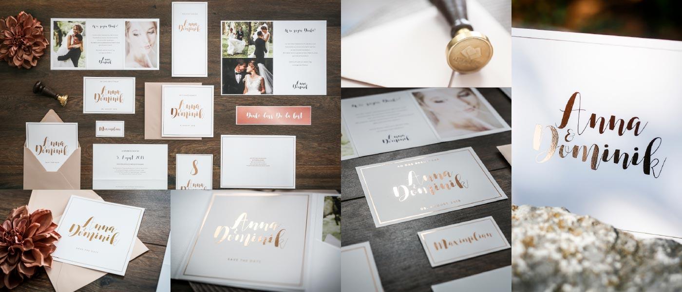 Design-Serie Kalligraphie